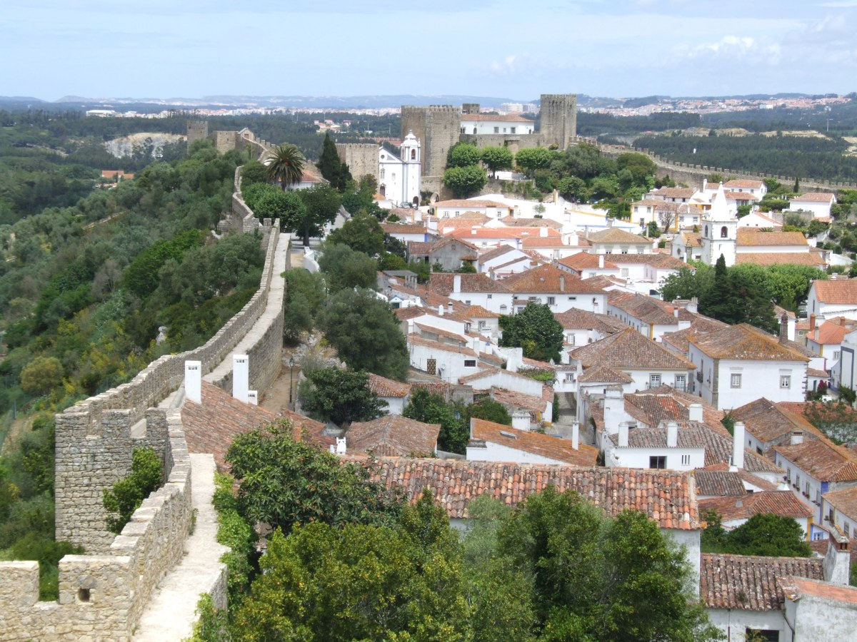 Portugal, passeios perto de Lisboa: Óbidos e Alcobaça - dicas e roteiros para a família